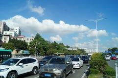 Shenzhen Baoan Avenue Stock Image