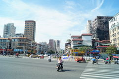 Shenzhen Baoan Avenue Royalty Free Stock Photo