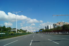 Shenzhen Baoan Avenue Stock Photography