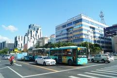 Shenzhen Baoan Avenue Royalty Free Stock Photos