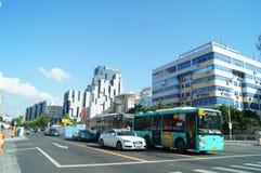Shenzhen Baoan Avenue Royalty Free Stock Image