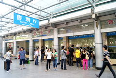 Shenzhen baoan bus station Stock Photo
