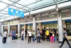 Shenzhen-baoan Busbahnhof Stockfoto