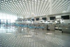 Shenzhen Baoan International Airport, in China Stock Photo