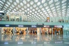Shenzhen Baoan International Airport, en Chine Images stock