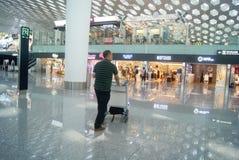 Shenzhen Baoan International Airport, en Chine Photographie stock libre de droits