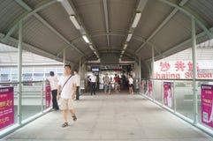 Shenzhen Baoan manhole subway station Stock Images