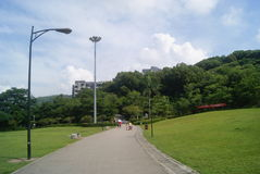 Shenzhen Baoan park landscape Royalty Free Stock Images