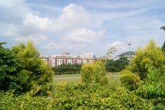 Shenzhen Baoan park landscape Stock Photo