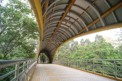 Shenzhen baoan road pedestrian overpass, in china Stock Images