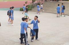 Shenzhen Baoan Shajing middle school Stock Photos