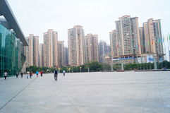 Shenzhen Baoan Sports Center Stock Image