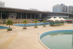 Shenzhen Baoan Sports Center swimming pool Royalty Free Stock Images