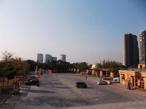 Shenzhen baoan stadion, in China Royalty-vrije Stock Afbeeldingen