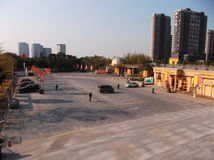 Shenzhen baoan stadion, in China Stock Afbeelding