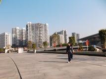 Shenzhen baoan stadion, in China Royalty-vrije Stock Foto