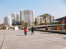 Shenzhen baoan stadion, in China Stock Foto's
