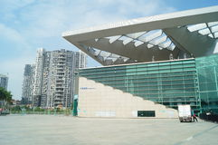Shenzhen baoan stadium Royalty Free Stock Photography