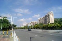 Shenzhen Baoan Xixiang Avenue traffic landscape Stock Images