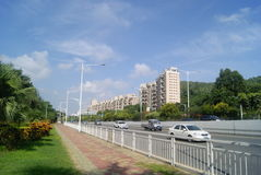 Shenzhen Baoan Xixiang Avenue traffic landscape Royalty Free Stock Photography