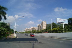 Shenzhen Baoan Xixiang Avenue traffic landscape Stock Photography