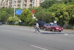Shenzhen Baoan Xixiang Avenue traffic landscape Royalty Free Stock Photos