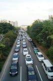 Shenzhen Baoan Xixiang road traffic congestion Stock Photos