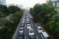Shenzhen Baoan Xixiang road traffic congestion Stock Image