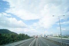 The Shenzhen Bay Bridge, in China Royalty Free Stock Photos