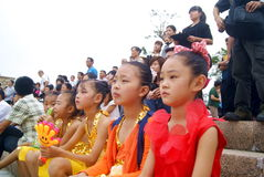 Shenzhen bay park held concert, in china Stock Photo