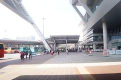 Shenzhen bay port in China Stock Image