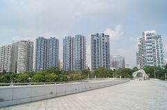 Shenzhen Bay Sports Center Royalty Free Stock Image