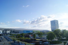 Shenzhen Bay Sports Center, in China Stock Image