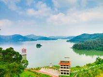 Shenzhen behållarfördämning Royaltyfri Bild