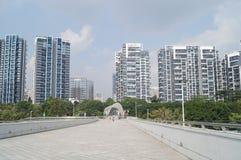 Shenzhen-Bucht-Sportzentrum Stockfoto