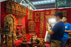 Shenzhen Buddhist supplies exhibition Royalty Free Stock Photos