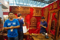 Shenzhen Buddhist supplies exhibition Stock Image