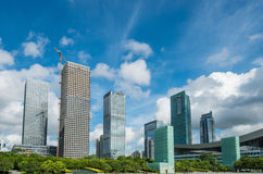 Shenzhen Center,futian CBD Royalty Free Stock Images