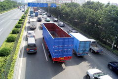 Shenzhen china: 107 national highway Stock Image