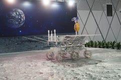 Shenzhen, China: Actividades lunares chinas de la semana de la conciencia de la ciencia del programa de exploración foto de archivo libre de regalías