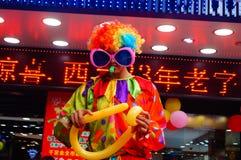 Shenzhen, China: actividades promocionales de la joyería del jade Foto de archivo