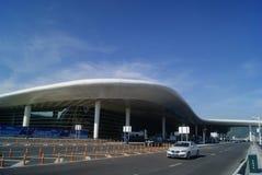 Shenzhen, China: airport highway traffic Stock Image