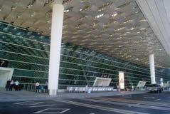 Shenzhen, China: airport highway traffic Stock Photo