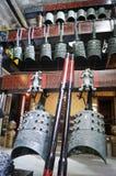 Shenzhen, China: alte Musikinstrumente der Glocken der Zeit der streitenden Reiche Stockfoto