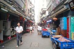 Shenzhen, China: the ancient city of Nantou Stock Photos