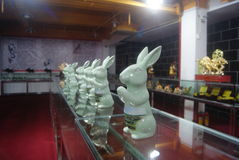 Shenzhen, China: Animal Sculpture Exhibition Royalty Free Stock Photo