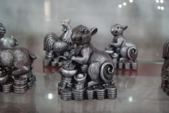 Shenzhen, China: Animal Sculpture Exhibition Royalty Free Stock Photos
