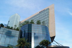 Shenzhen, China: the appearance of five Stars Hotel building Stock Photo