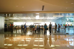 Shenzhen, China: Apple mobile phone shop Stock Image