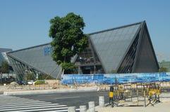 Shenzhen, China: Architekturlandschaft Qianhai FTA Stockbild